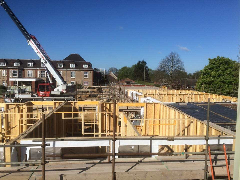 Timber Frame Bungalow Development Northampton