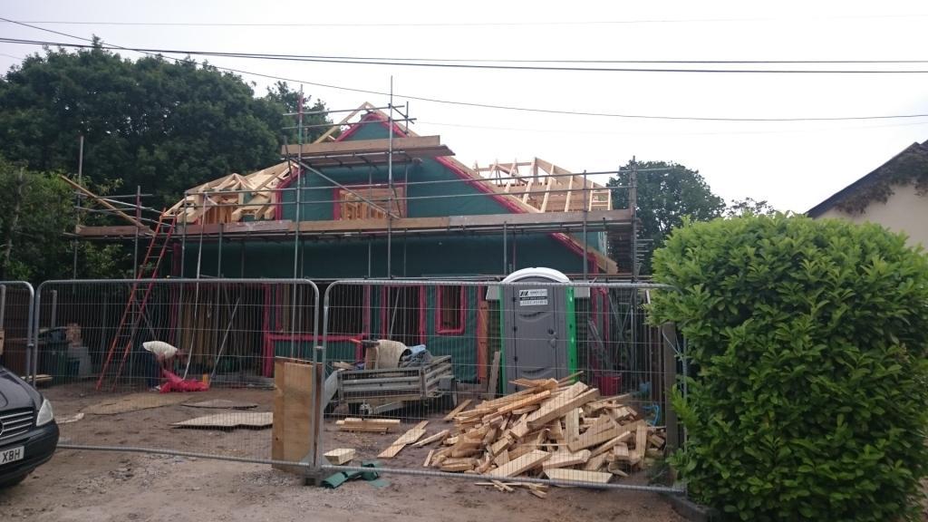Timber Frame Woking Surrey Front