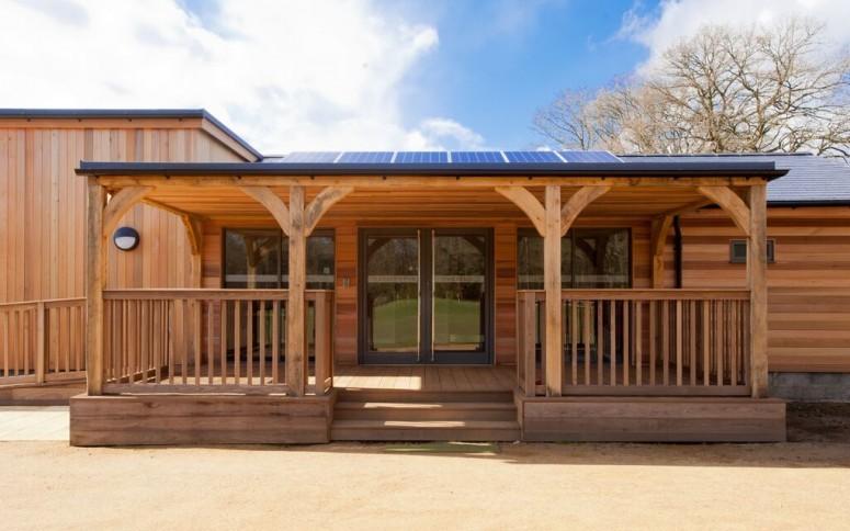 Timber Frame Golf Pavilion