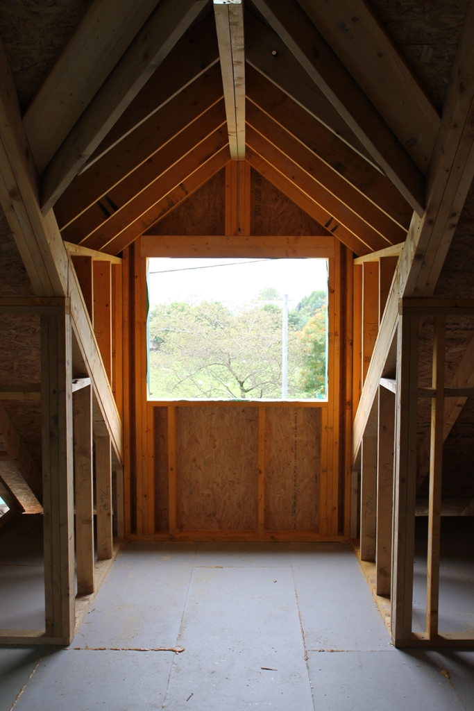Timber Frame In Shap Cumbria