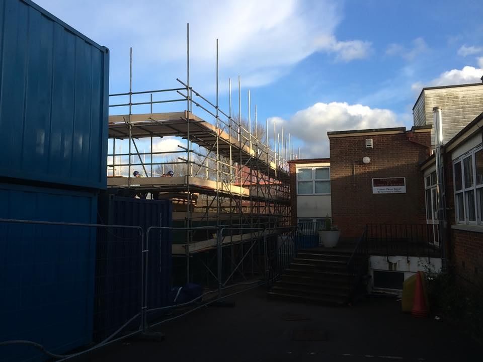 Timber Frame School Hatfield Hertfordshire